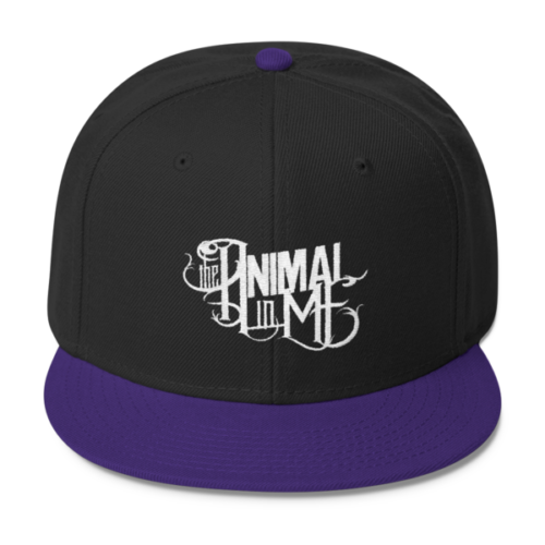 Logo Snapback Purple